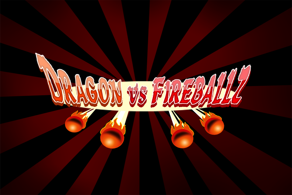 Dragon Vs. Fire Ballz - Free Flying Game